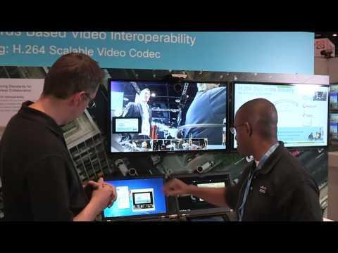 InfoComm 2013: Cisco Interoperability Demo