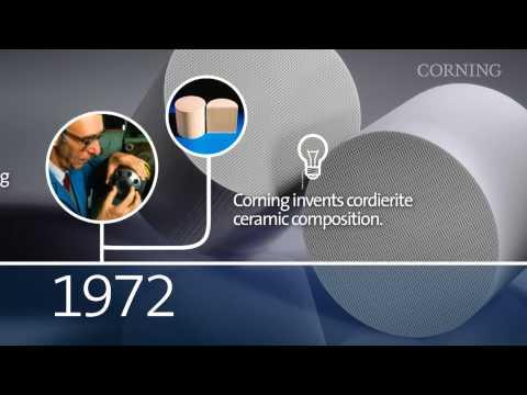 More Than 40 Years Of Corning Clean Air Technologies