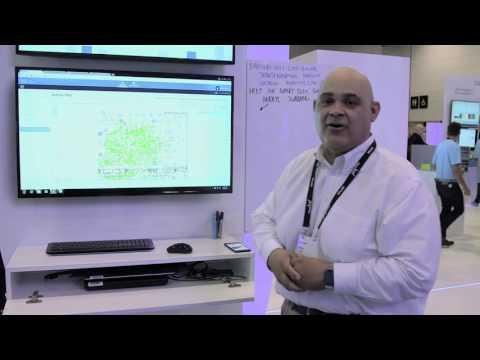 Cisco DNA Analytics – Connected Mobile Experience Demo