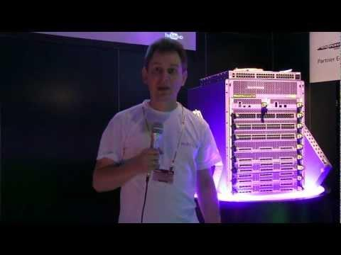 Sergi Polischuk, Ukrainian Internet Exchange On The Extreme Networks BlackDiamond X8