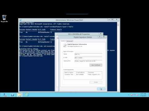 Deploy DR2000v Into A Local Microsoft 2012 Hyper-V Environment