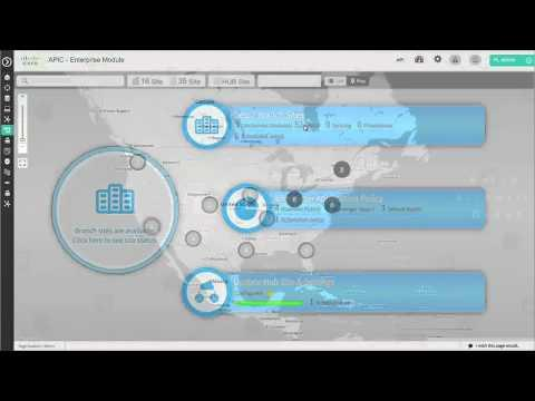 Cisco APIC EM With IWAN Application Demo