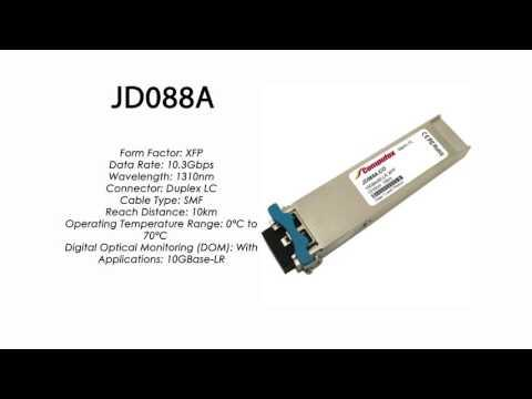 JD088A  |  HP Compatible 10GBase-LR XFP 1310nm 10km