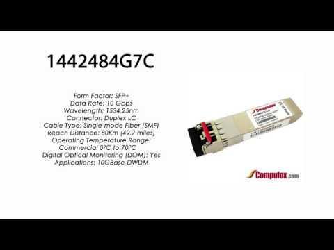 1442484G7C  |  Adtran Compatible 10GBase-DWDM 1534.25nm 80km SFP+