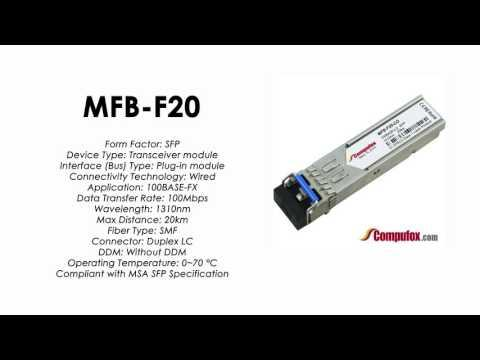 MFB-F20  |  Planet Compatible 100Base-FX 1310nm 20km SFP