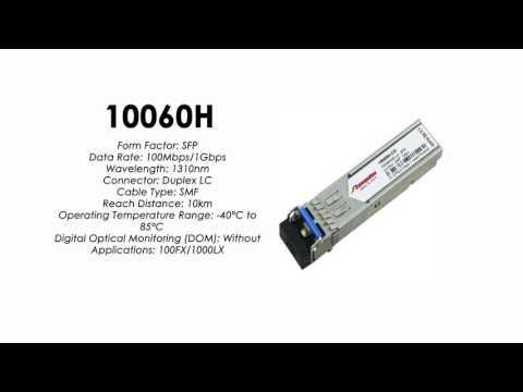 10060H  |  Extreme Networks Compatible 100Mbps/1Gbps 1310nm 10km Industiral