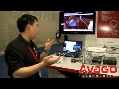 Avago Multi-Gigabit Consumer Optical Interconnect