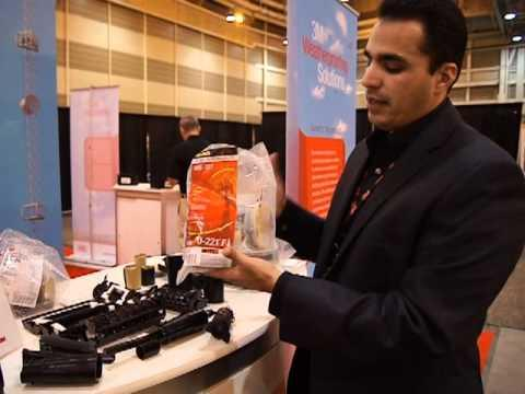CTIA 2012: 3M Slim Lock Weather Proofing And Tower Dome Product Demonstration