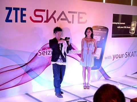 Magic Performance Of Hong Kong ZTE Skate Launch