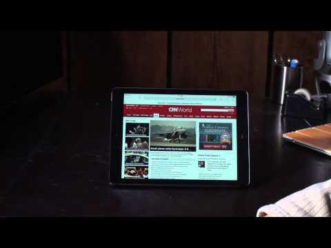 Hands On Review Of IPad Air