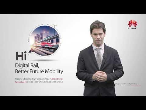 Huawei Global Railway Forum 2020 - UITP