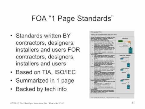 FOA Standards