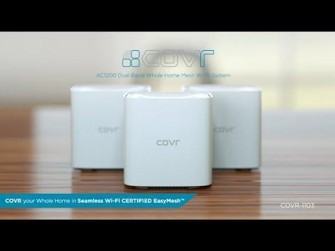 COVR-1103 Dual Band Whole Home Mesh Wi-Fi System | Setup Video