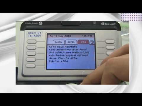 Alcatel-Lucent Showroom  - FreeDesktop Appliaktion Der OmniPCX Enterprise