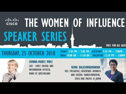 The Woman Of Influence Speaker Series