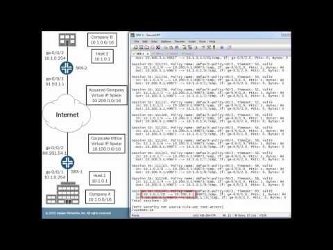 Overcoming Overlapping IP Addresses With Static NAT
