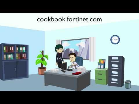 The Fortinet Cookbook Website Walkthrough