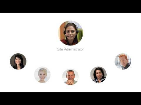 WebEx Site Admin: Manage Site Admin Roles And Responsibilities (WBS30)