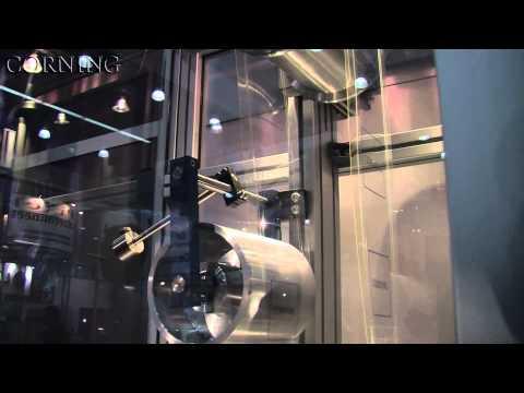 Ultra-Slim Flexible Glass - Display Week 2011