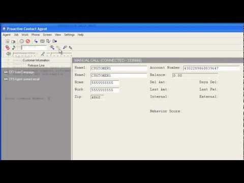 How To Run Manual Calls Report In Avaya Proactive Contact