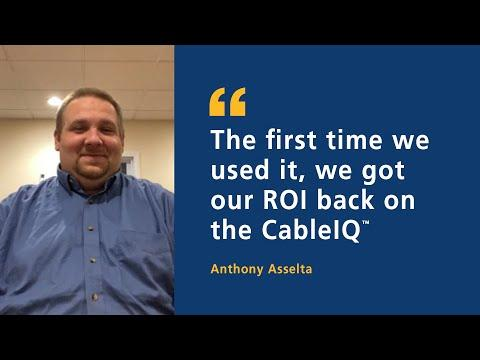 CableIQ™ Testimonial (Anthony Asselta) By Fluke Networks