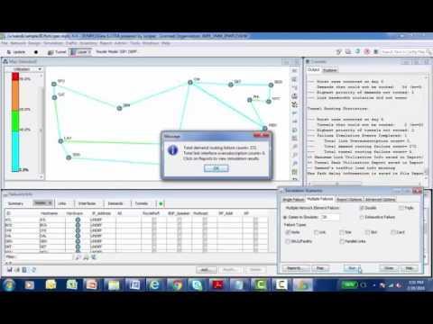 WANDL Failure Simulation Scenarios