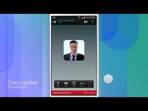Cisco Jabber For Android Video
