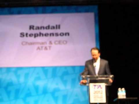 TIA 2012: AT&T CEO - Good Public Policy Drives Economic Growth And Prosperity