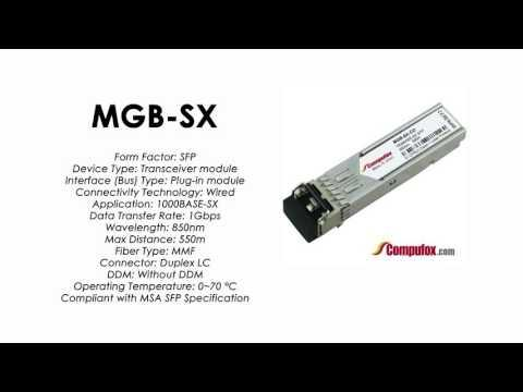 MGB-SX  |  Planet Compatible 1000Base-SX 850nm 550m SFP