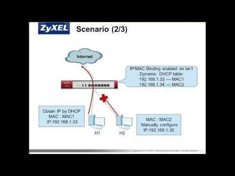 ZCNE Security Level 2 - IP/MAC Binding Module