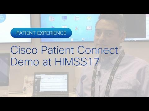 Cisco Patient Connect Demo At HIMSS17
