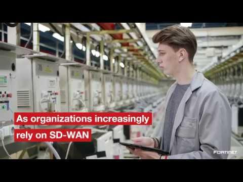 Fortinet's Secure SD-WAN Solution | Network Security