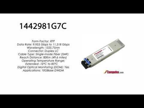 1442981G7C | Adtran Compatible 10G DWDM XFP 1555.75nm 80km LC