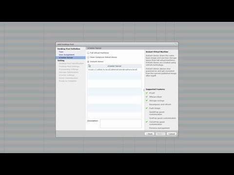 Cisco HyperFlex Provisioning Demo For VMware Horizon 7