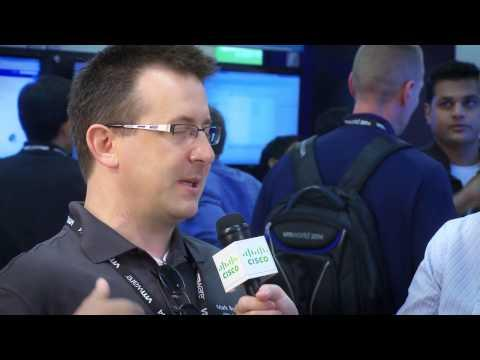 Cisco Roving Reporter Lauren Malhoit Interviews Mark Browne At VMworld 2014