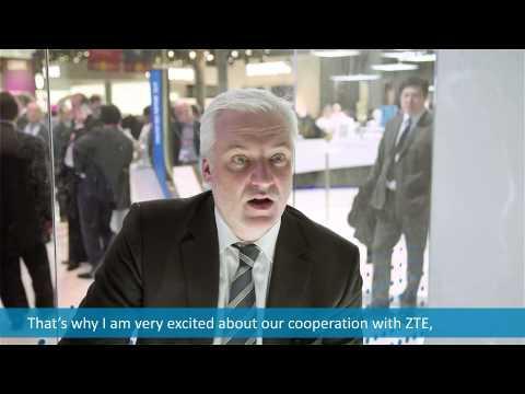 ZTE Interviewed Minister From Nortn Rhine-Westphalia At MWC15