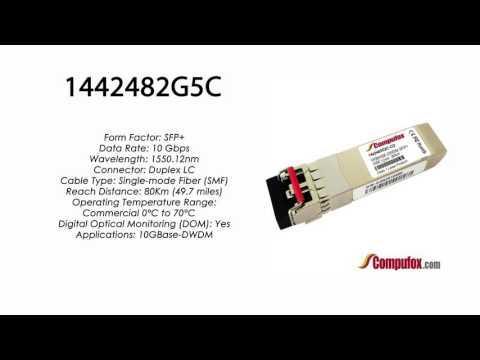 1442482G5C     Adtran Compatible 10GBase-DWDM 1550.12nm 80km SFP+