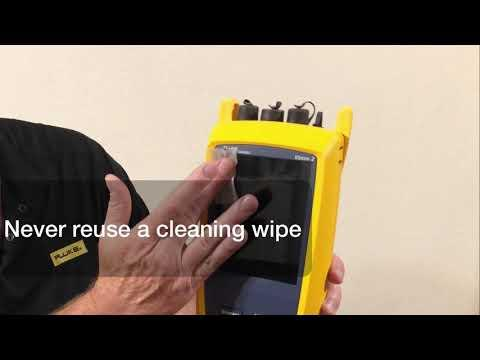 Cleaning Your Test Equipment - By Fluke Networks