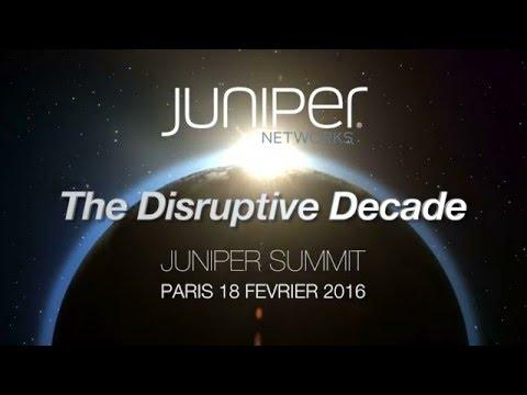 Juniper Summit Paris, France - 18 Février 2016