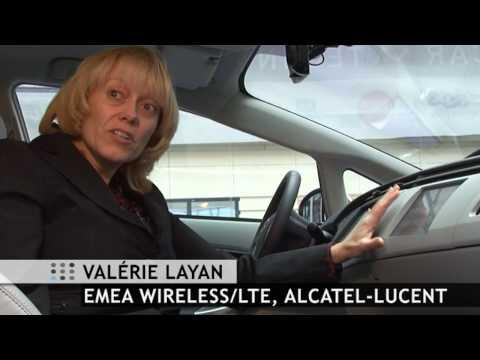 LTE Connected Car And LTE Drive Tour In Velizy France