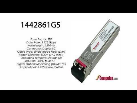 1442861G5 | Adtran Compatible 3.125G CWDM SMF SFP 1590nm 60km
