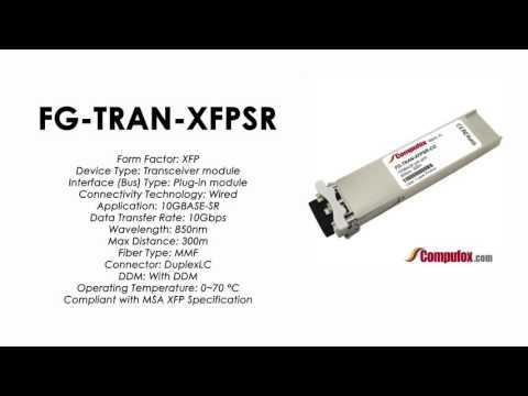 FG-TRAN-XFPSR  |  Fortinet Compatible 10GBASE-SR 850nm 300m XFP