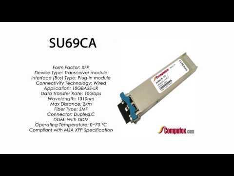 SU69CA  |  Marconi Compatible 10GBASE-LR XFP 1310nm 2km