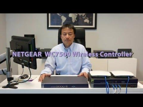 NETGEAR ProSAFE WC7500 15AP Wireless Controller Introduction