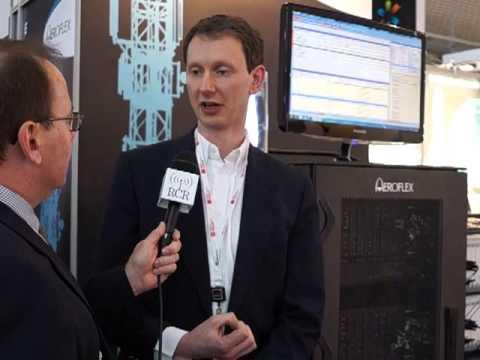 2013 MWC: Aeroflex Booth Tour - FDD To TDD Handover Plus Carrier Aggregation