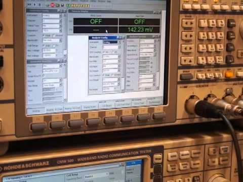 CTIA 2012 Rohde & Schwarz CMW 500 VOLTE Audio Analyser