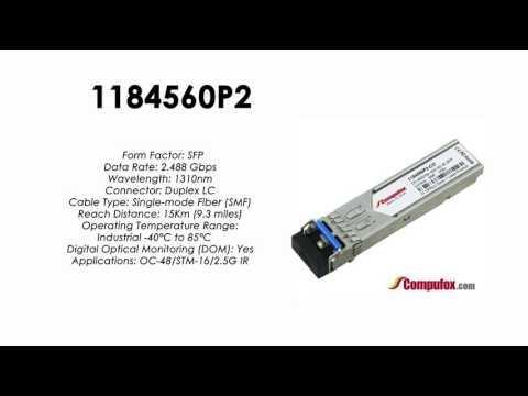 1184560P2  |  Adtran Compatible OC-48 1310nm 15km SFP