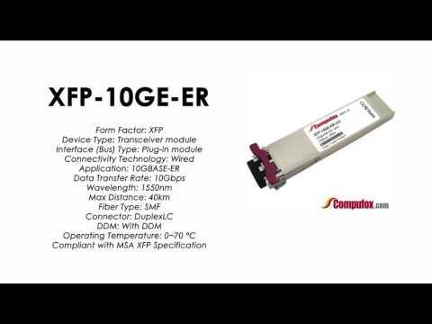 XFP-10GE-ER  |  Redback Compatible 10GBASE-ER 1550nm 40km XFP