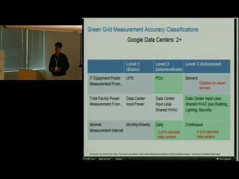 Google Efficient Data Centers Summit - 1 Of 3