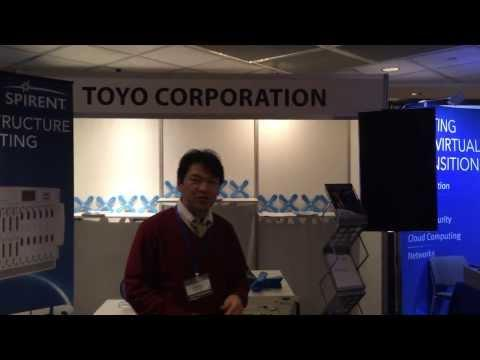 MPLS/SDN 2013 - Toyo Corporation